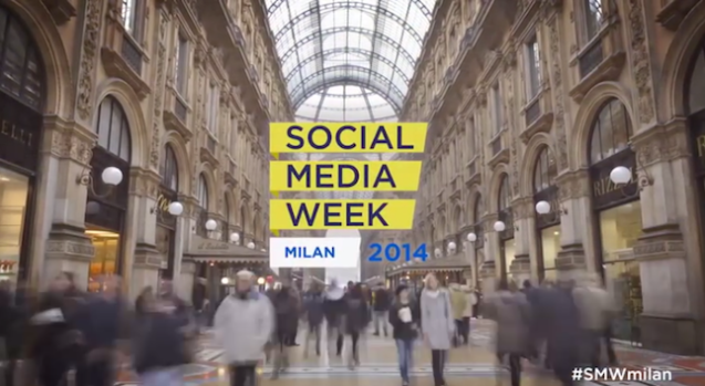 Al via la Social Media Week Milano 2014