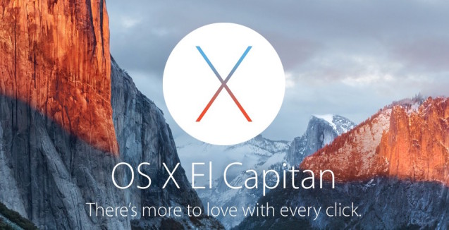 Apple, El Capitan arriva sui Mac