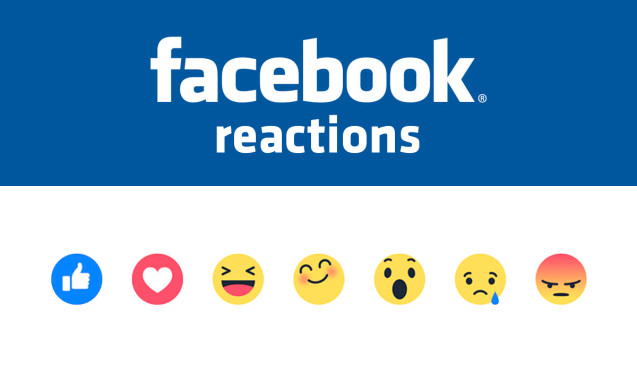 Non solo like, su Facebook arrivano i sentimenti con Reactions
